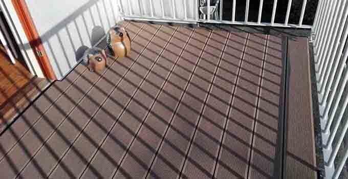 Terrasse komposi
