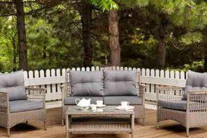 Lærketræ terrasse